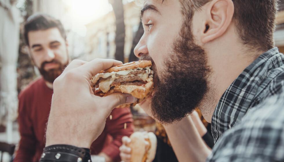 FJERNER STORFEKJØTT: Fra september får man ikke lenger kjøpt produkter av storfekjøtt ved Goldsmiths Universitet i London. Foto: Shutterstock / NTB Scanpix