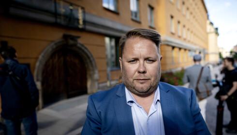EKSPERT: Fredrik Sjöshult, Expressens krimekspert, har tidligere uttalt seg til Dagbladet om nødvergen som Asap Rocky og de to andre tiltalte har påberopt seg. Foto: John T. Pedersen / Dagbladet