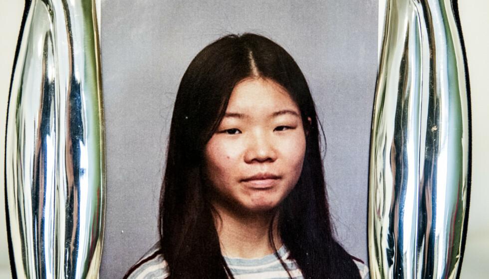 DREPT: Johanne Ihle-Hansen skulle begynne i andreklasse på Sandvika videregående neste uke. Hun ble drept lørdag. Foto: Privat