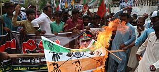 Sablene rasler i Kashmir