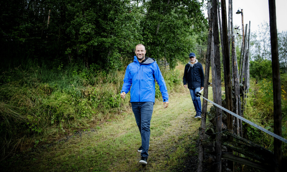TETT SAMARBEID: Aksel Lund Svindal og pappa Bjørn Svindal har flere prosjekter sammen. Foto: Nina Hansen