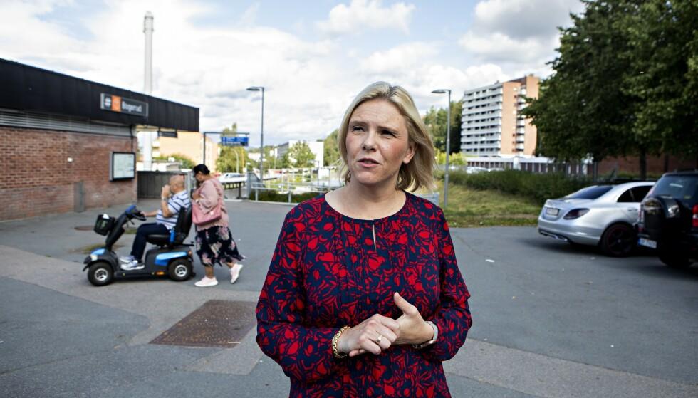BEKYMRET: Folkehelseminister Sylvi Listhaug (Frp) er bekymret for ungdoms bruk av cannabis. Hun mener det skorter på kunnskap om stoffet. Foto: Frank Karlsen / Dagbladet