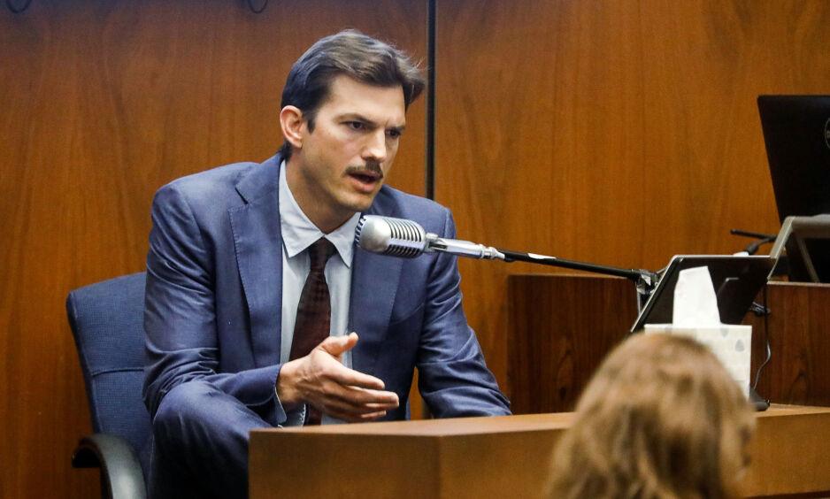 VITNET: I slutten av mai vitnet Ashton Kutcher mot Michael Gargiulo, som nå er blitt dømt for to drap og ett drapsforsøk. Foto: Reuters / NTB Scanpix