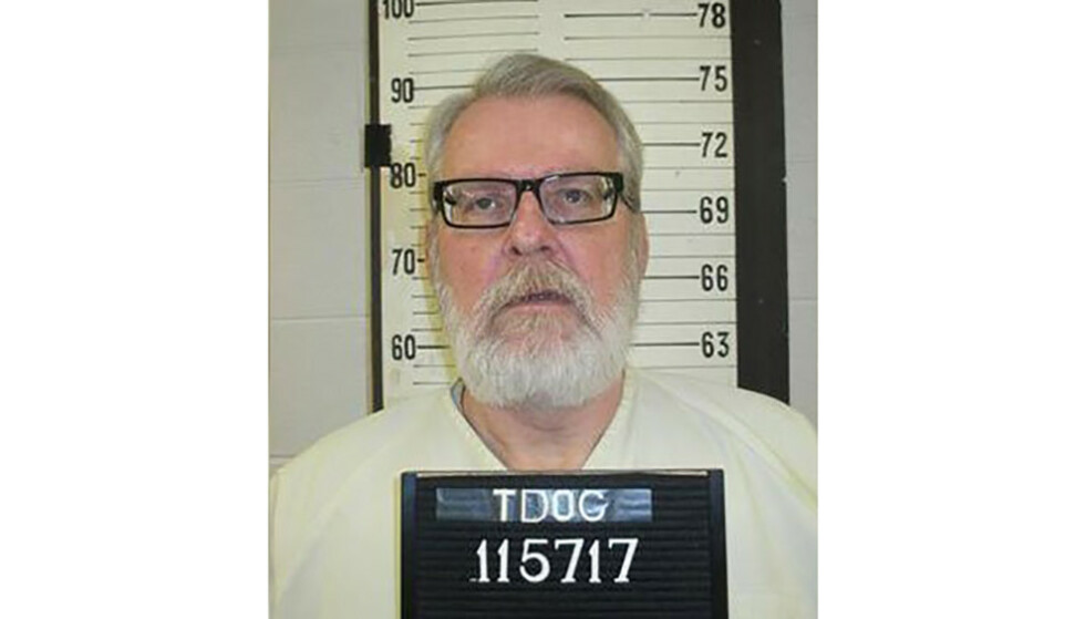 <strong>HENRETTET:</strong> Stephen West. Foto: Handout / Tennessee Department of Corrections / AFP