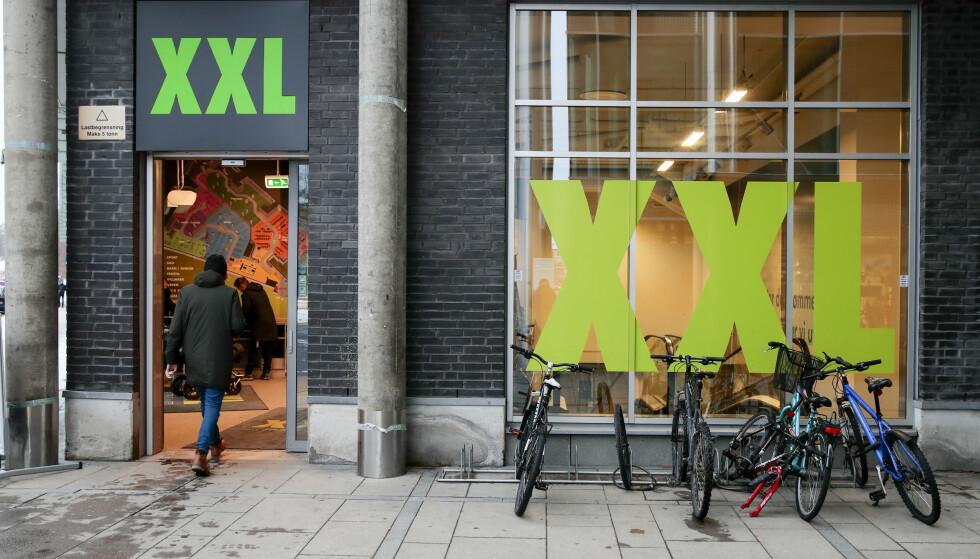 PRISJUKS: Sjefen for XXL bekrefter at det har vært jukset med priser i sportskjeden. Foto: Håkon Mosvold Larsen / NTB scanpix