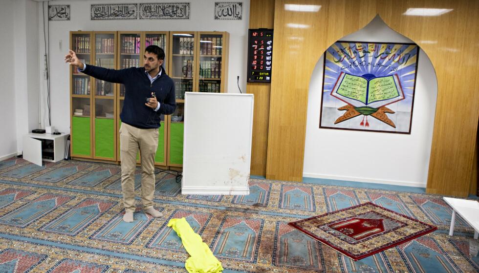 KRITISK: Styremedlem Irfan Mushtaq er sterkt kritisk til hvordan politiet håndterte moskéangrepet forrige lørdag. Nå skal hendelsen evalueres. Foto: Frank Karlsen / Dagbladet