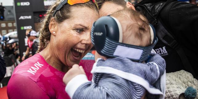Topplassering i Ironman tre måneder etter fødsel