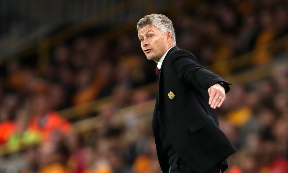 DRESSKLEDD: Ole Gunnar Solskjær og Manchester United klarte bare ett poeng borte mot Wolverhampton. Foto: NTB scanpix