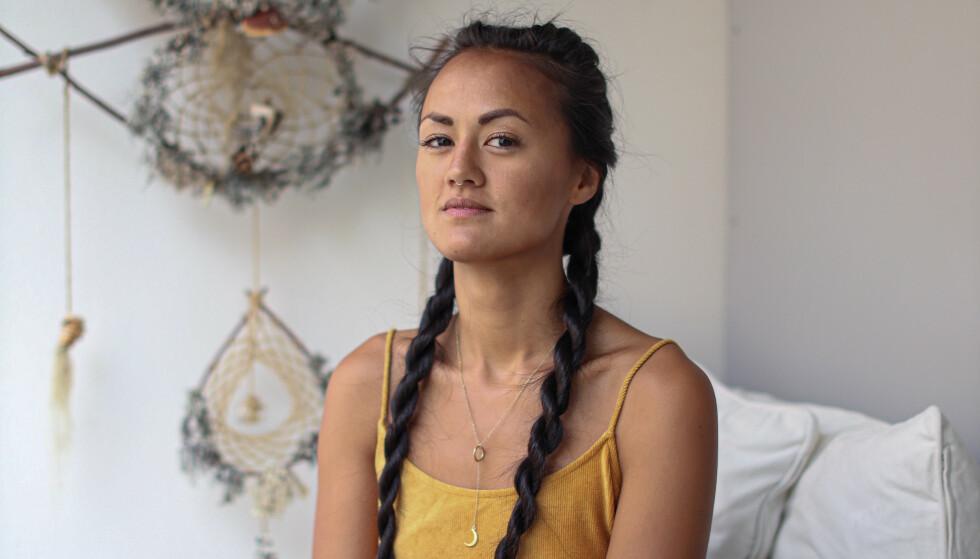 Alltid vært åpen: Sofia beskriver seg selv som en kåt tenåring, som fikk kommentarer om at hun var horete fordi hun utforsket seksualiteten sin. Foto: Ida Bergersen