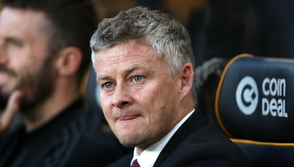 SPILTE BAK LUKKEDE DØRER: Ole Gunnar Solskjaer tok ut et sterkt Manchester United-lag mot Sheffield United. Foto: NTB Scanpix