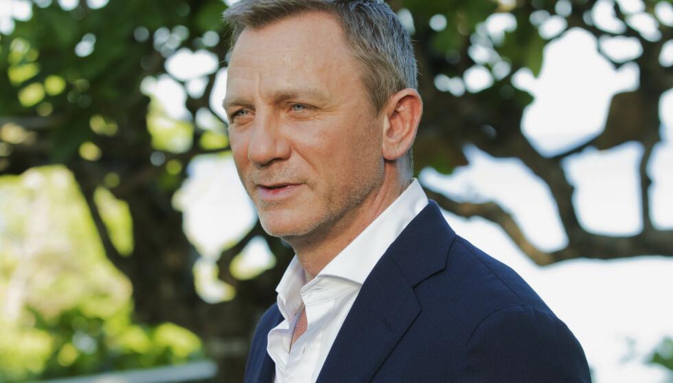 JAMES BOND: Tittelen på den kommende filmen om agent 007 er nå kjent. I rollen som James Bond finner vi Daniel Craig. Foto: NTB Scanpix