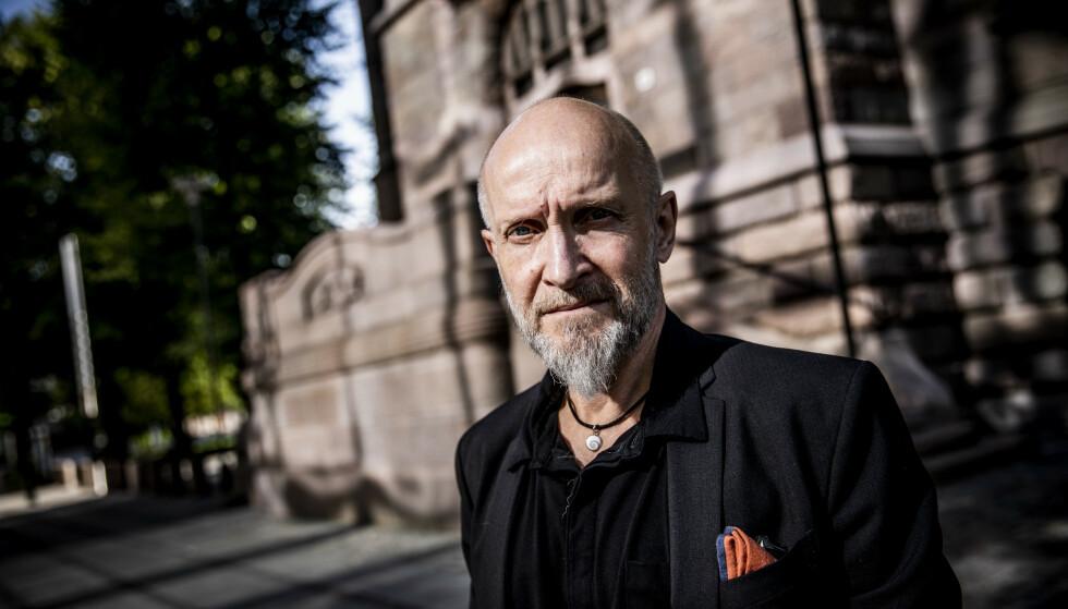 DØDSDOM: Lars Saabye Christensen skriver inn sin mulige dødsdom i denne påstått siste boka. Foto: Christian Roth Christensen / Dagbladet