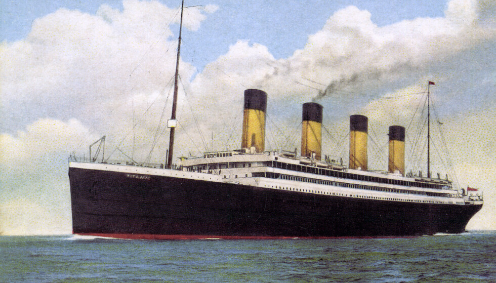 <strong>TITANIC:</strong> RMS Titanic var sammen med sitt søsterskip «Olympic» det største skipet i sin klasse. Foto: Historia/REX/ NTB Scanpix