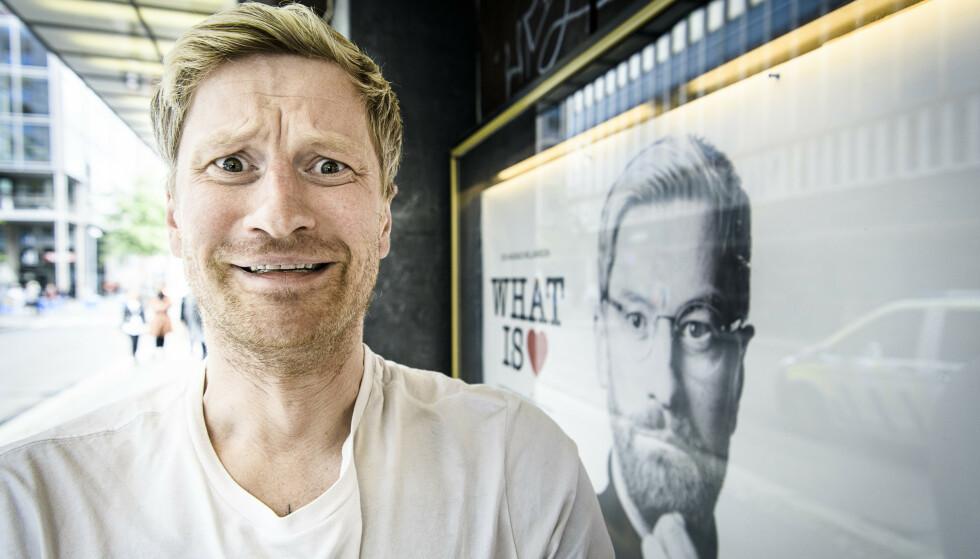 ENGSTELIG: Odd-Magnus Williamson (38) trodde han var blitt kjærlighetsekspert, men har begynt å tvile. Foto: Lars Eivind Bones / Dagbladet