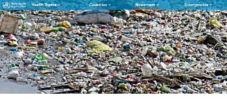 FN-rapport overrasker:- Mikroplast ikke farlig