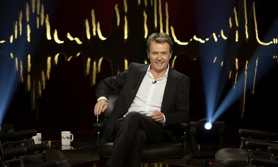 FREDRIK SKAVLAN: Talkshowvert Fredrik Skavlan har holdt programmet gående siden 2009. Foto: Henning Lillegård / Dagbladet