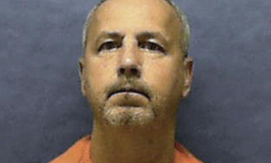 SKAL HENRETTES: Gary Ray Rowles får giftsprøyta ved midnatt natt til fredag norsk tid. Han har tilstått seks drap. Foto: Florida Department of Corrections via AP / NTB scanpix