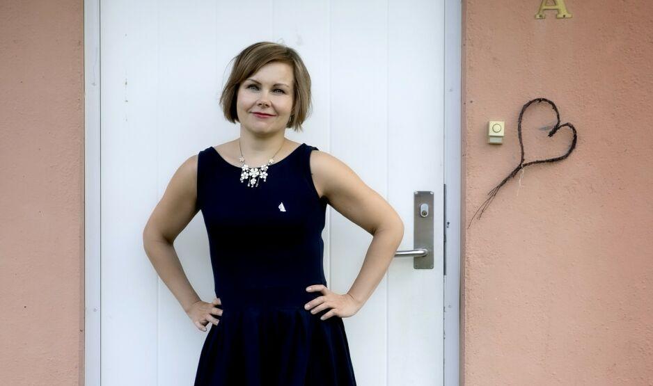 POSTDOKTOR, MAMMA - OG SKILT: Sanna Sarromaa flyttet til Norge for kjærligheten, som seinere tok slutt. To og et halvt år etter skilsmissen har hun skrevet bok om «helvetet». Foto: Bjørn Langsem / Dagbladet