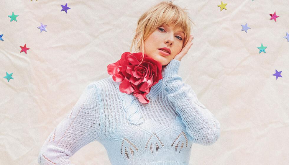 <strong>«WE BLESS THE RAINS ON CORNELIA STREET»:</strong> Taylor Swift har klart å snike inn en Toto-referanse på «Lover». Foto: Universal Music