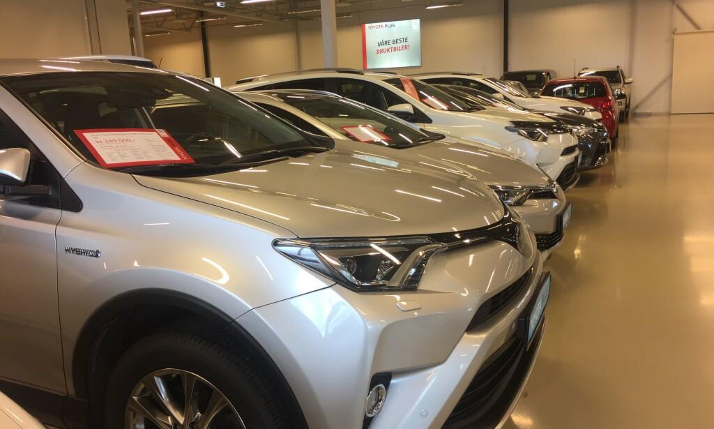 POPULÆRE BILER: SUV-er er populære biler og det gjenspeiler seg i prisene på de brukte. Likevel er det såpass mange biler i markedet at det er mulig å gjøre bra kjøp. Foto: Rune Korsvoll