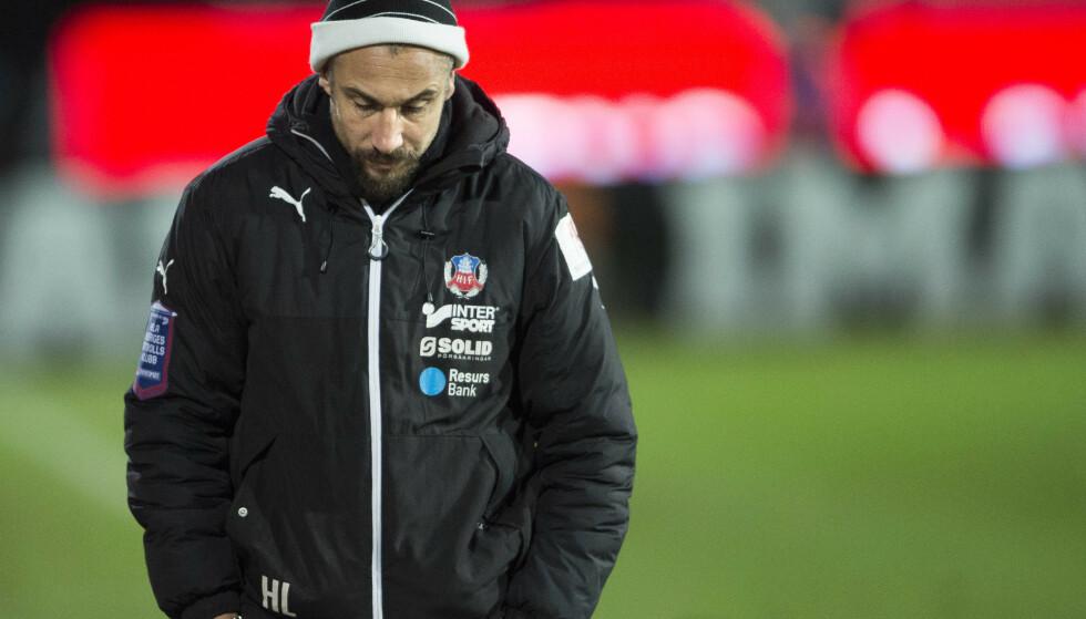 <strong>GIR SEG:</strong> Henrik Larsson gir seg som manager i Helsingborg. Foto: Björn Lindgren/TT / NTB scanpix