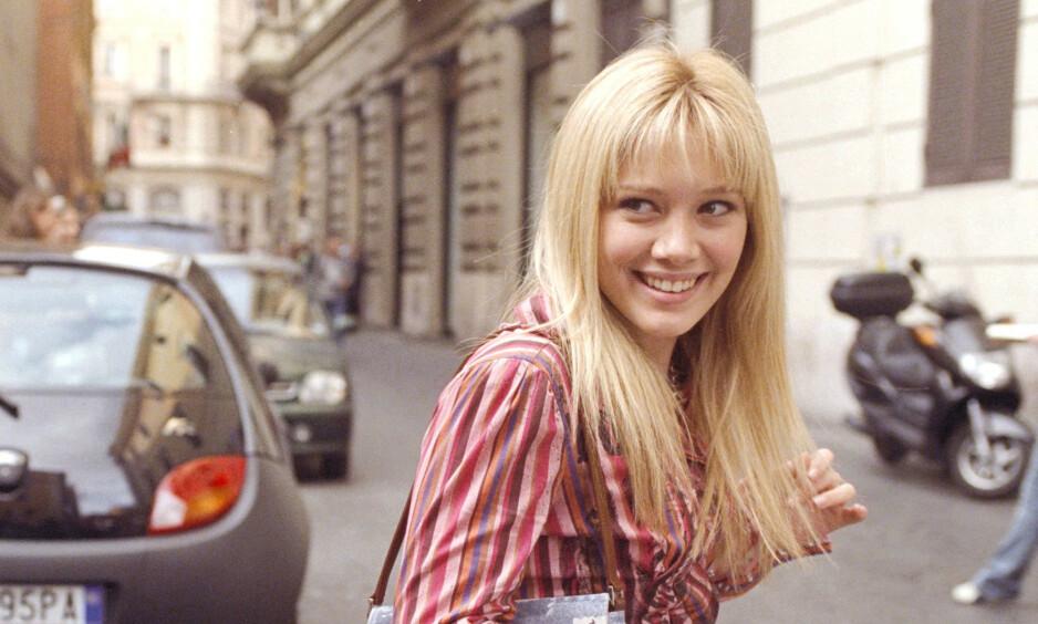 COMEBACK: Hilary Duff returnerer til tv-skjermen som Lizzie McGuire, til fansens store glede. Foto: NTB Scanpix