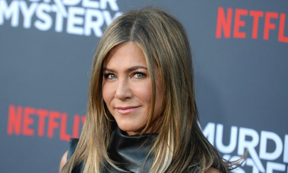 KONFLIKT: Jennifer Aniston er fortsatt uløselig knyttet til rollen som Rachel Green for mange. Men skuespilleren måtte nesten forlate serien halvveis i første sesong. Foto: NTB Scanpix