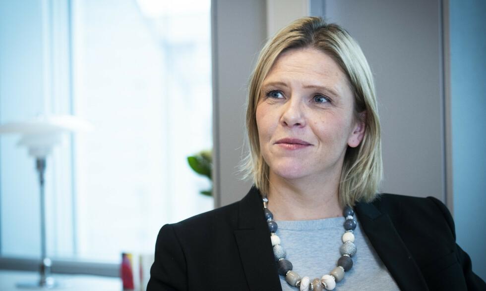PROVSERT: Frp-nestleder Sylvi Listhaug skjønner at folk blir provosert når man kan få mer utbetalt i sosialhjelp og andre ytelser enn det folk i jobb tjener. Foto: Lars Eivind Bones / Dagbladet