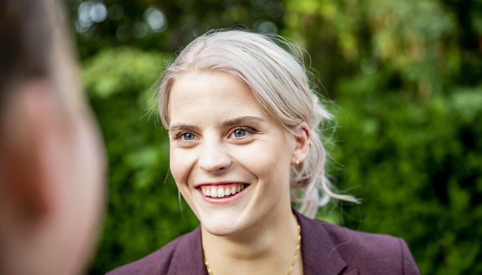 <strong>TØFF TID:</strong> Prosjektet ble satt på vent da Ulrikke Falch ble sykmeldt etter sommeren i fjor. Hun slet blant annet med angst. Foto: Christian Roth Christensen / Dagbladet