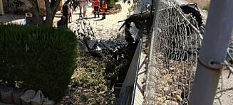Helikopter og fly krasjet på Mallorca