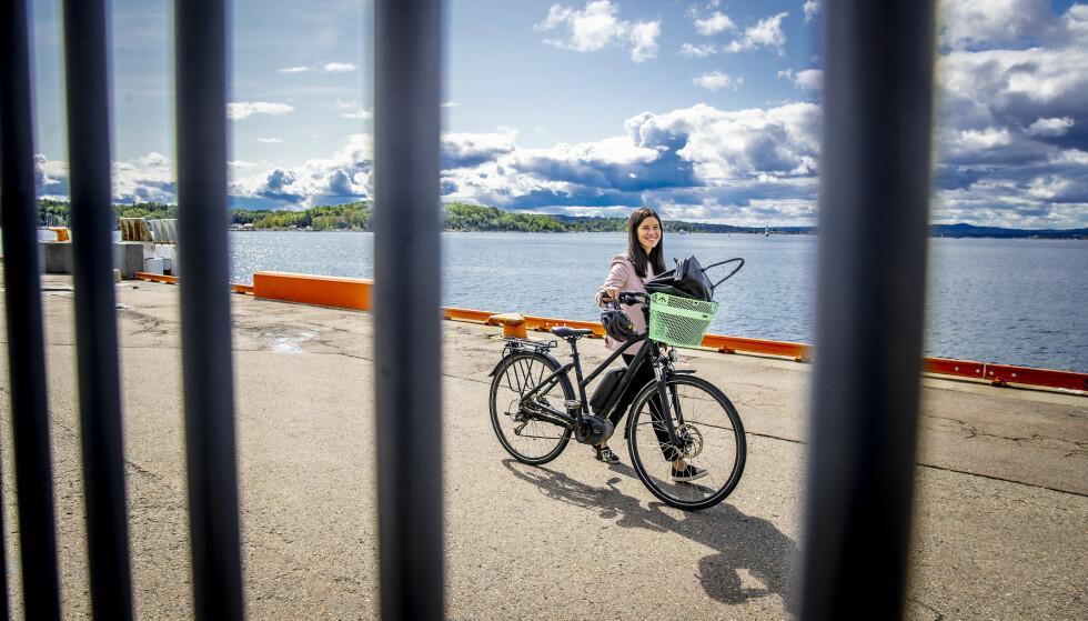 <strong>SIER NEI:</strong> Lan Marie Berg (MDG) vil ikke akseptere kutt i bompenger i Oslo. Foto: Bjørn Langsem / Dagbladet