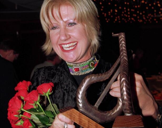 PRISVINNER: Anne Grete Preus har vunnet flere priser opp gjennom sin karriere. I 1994 stakk hun av med hele tre Spellemannpriser. Foto: NTB Scanpix