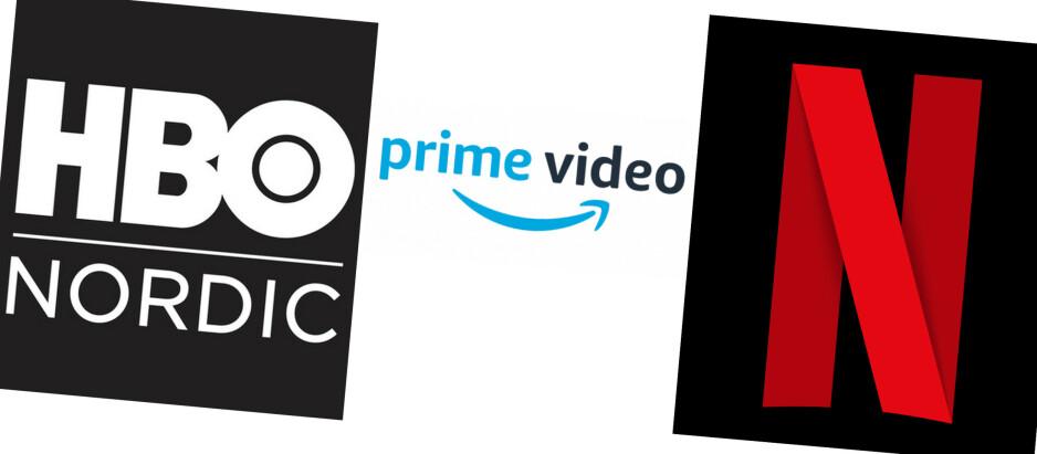 TESTET: Vi har testet de tre strømmetjeneste som ikke er knyttet til noen lineær-tv-kanal: HBO Nordic, Amazon Prime og Netflix.