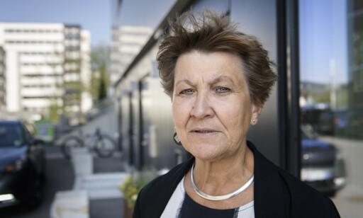 OND SIRKEL: Fagforbundets leder Mette Nord mener deltidsandelen i omsorgsyrker er en ukultur. Foto: Lars Eivind Bones.