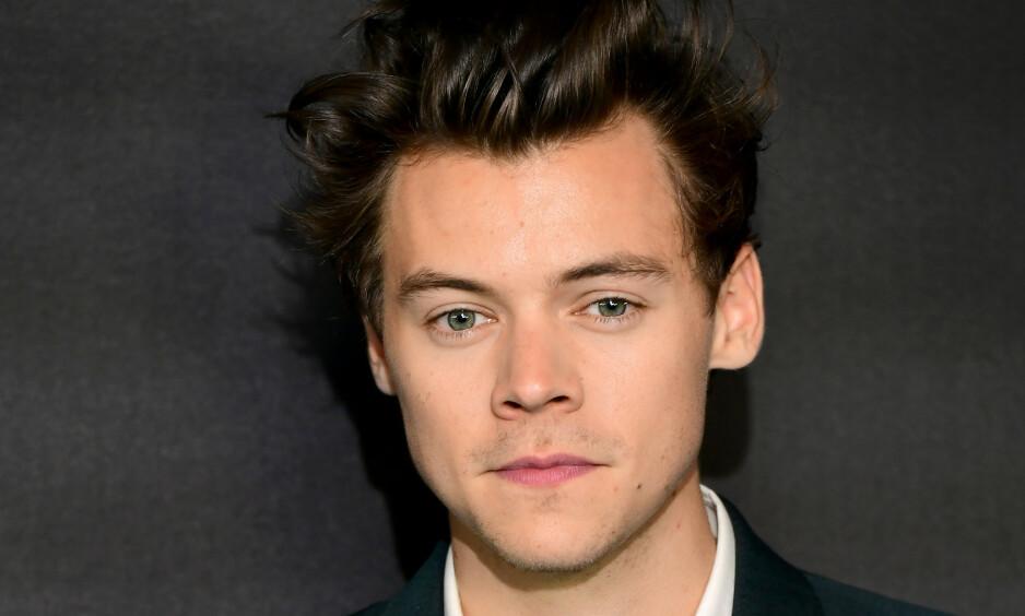 OPPSIKTSVEKKENDE AVSLØRING: I et lengre intervju kommer ungpikeidolet Harry Styles med en noe oppsiktsvekkende detalj om innspillingen av sitt kommende album. Foto: NTB Scanpix