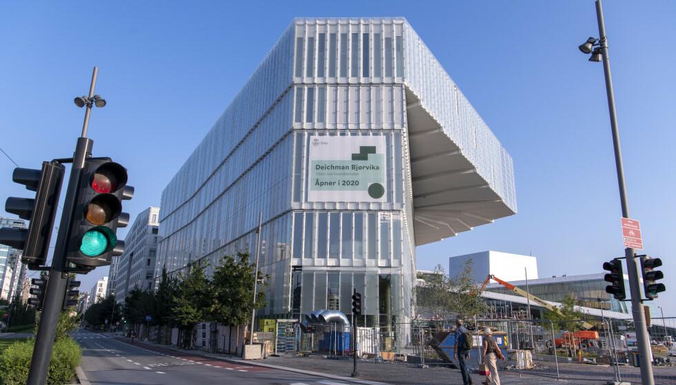 KONTROVERSIELT: Det nye hovedbiblioteket vekker mange reaksjoner. Foto: Lars Eivind Bones