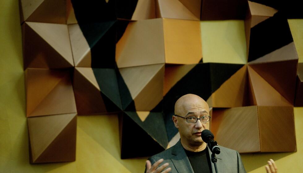 TÅREDRYPPENDE: Gabi Gleichmann brakdebuterte med «Udødelighetens elixir» i 2012. Nå er han tilbake med ny roman. Foto: NTB SCANPIX