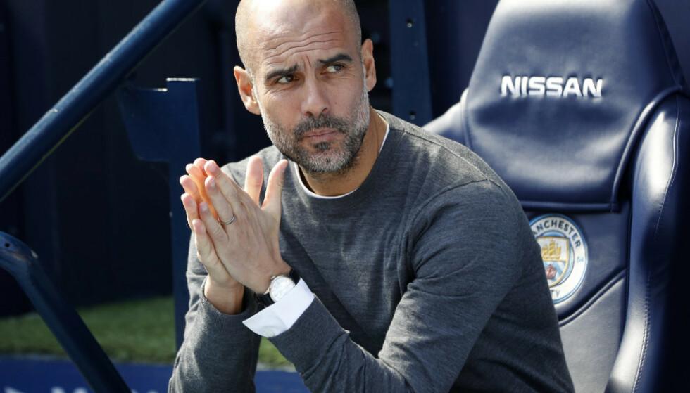 PREGET: Pep Guardiola. Foto: NTB Scanpix