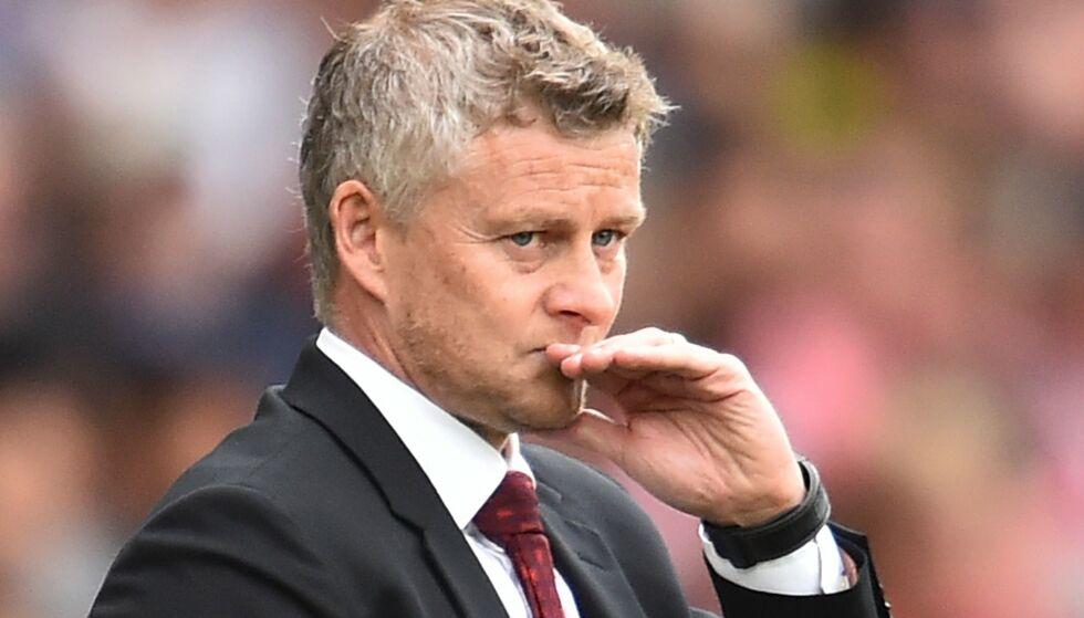 SKADEPROBLEMER: Manchester United har flere spillere som er usikre til kampen mot Leicester, som på sin side er heldige som mønstrer toppet lag på grunn av en dommerfeil. Foto: Glyn KIRK / AFP / NTB Scanpix