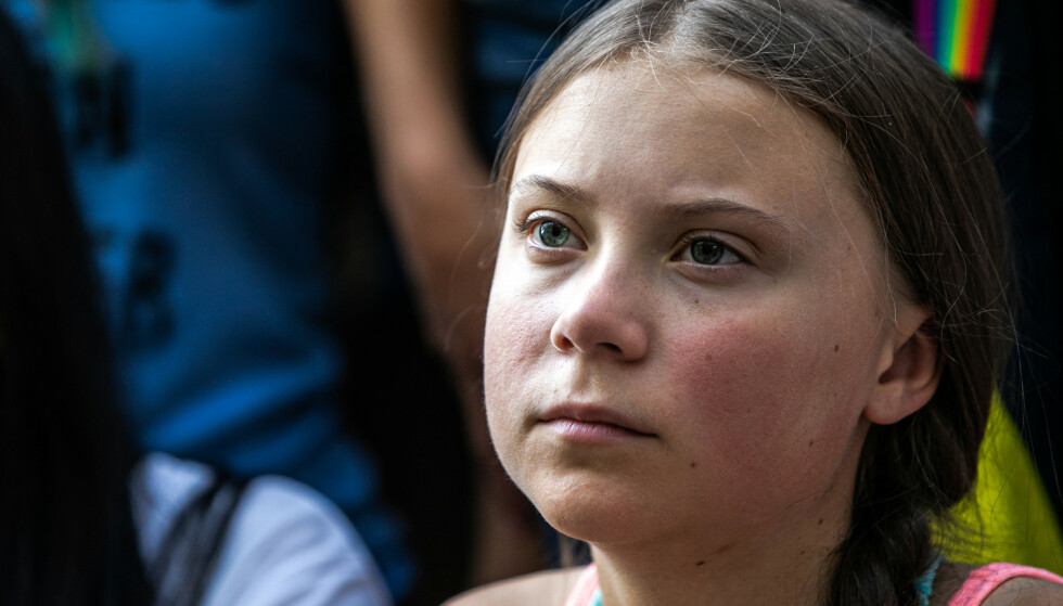 KLIMAAKTIVIST: Greta Thunberg åpner opp om diagnosen på Twitter. Foto: Jeenah Moon / Reuters / NTB Scanpix