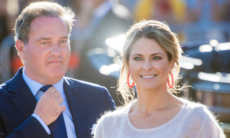 UVÆR: Prinsesse Madeleine, ektemannen Chris O'Neill og deres tre barn bor for tiden i Florida. Tirsdag er det ventet at orkanen Dorian vil treffe staten deres. Foto: NTB Scanpix
