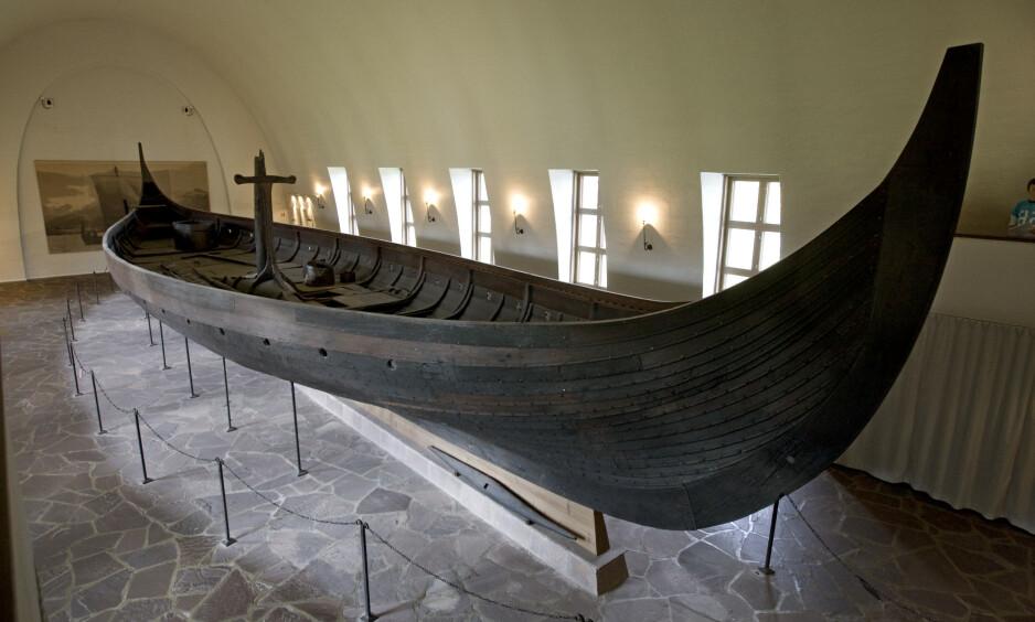 Nytt museum: Gokstadskipet skal flyttes rundt 50 meter og inn i nytt bygg. Endelig! Foto: Bjørn Sigurdsøn / Scanpix