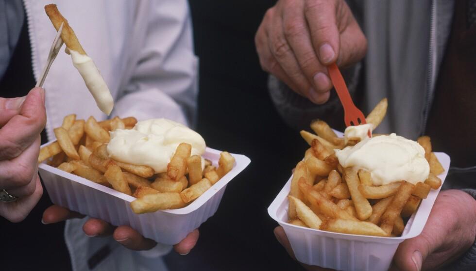 POMMES FRITES: Tenåringen har sagt at han nærmest utelukkende livnærte seg på pommes frites og potetgull. Illustrasjonsfoto: Chad Ehlers / Shutterstock / NTB Scanpix