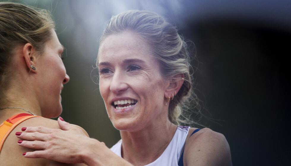 <strong>DOBLER:</strong> Karoline Bjerkeli Grøvdal. Foto: NTB Scanpix
