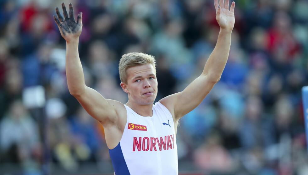 <strong>NORSK REKORD:</strong> Sondre Guttormsen. Foto: NTB Scanpix