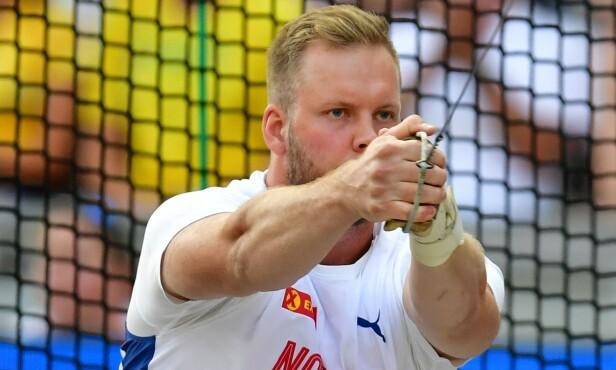 <strong>NORSK REKORD:</strong> Eivind Henriksen. Foto: NTB Scanpix