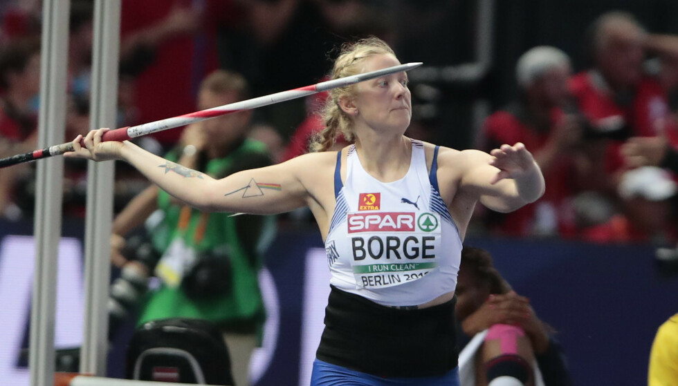 <strong>SPYDKASTER:</strong> Sigrid Borge. Foto: NTB Scanpix