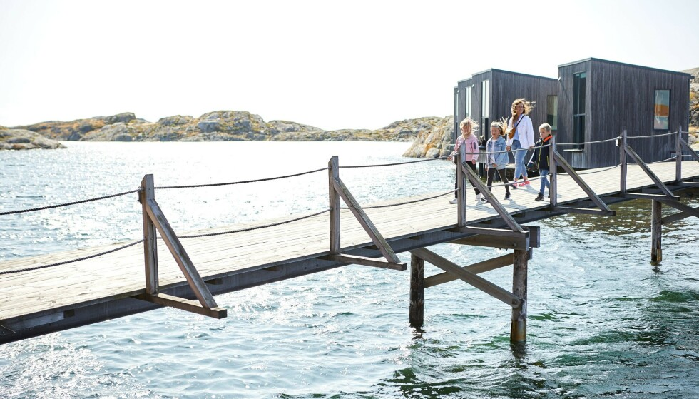 MARITIM IDYLL: Nordiska Akvarellmuseet har en spektakulær beliggenhet. Foto: Jonas Ingman