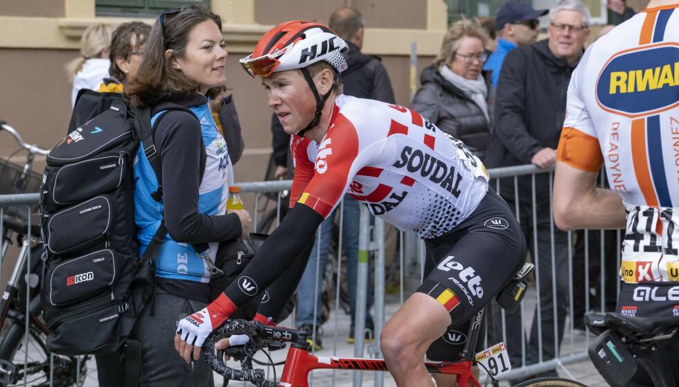 GOD GJENNOMFØRING: Tempo er ikke Hagens sterkeste side som rytter. Dermed var det sterkt å beholde 6.-plassen i sammendraget. FOTO: NTB/Scanpix