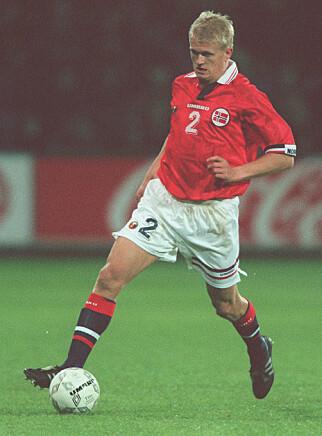 DRILLO-HELT: Alf-Inge Håland debuterte på landslaget i1994. Foto: NTB scanpix